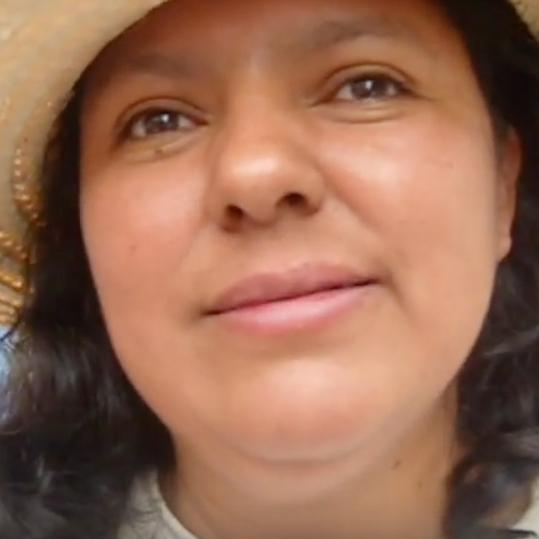 Berta Cáceres (Global Voices)